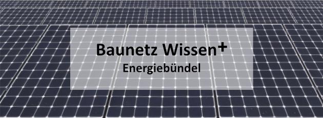 BAUNETZ WISSEN + Newsletter +++ plus +++ Energiebündel