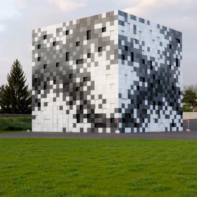 Fassade bürogebäude  Bürogebäude mit Prüfhalle in Graz/A | Fassade | Büro/Verwaltung ...