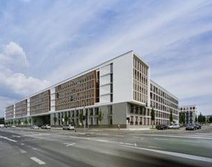 Eines der beiden Gebäude liegt an der Mainzer Straße