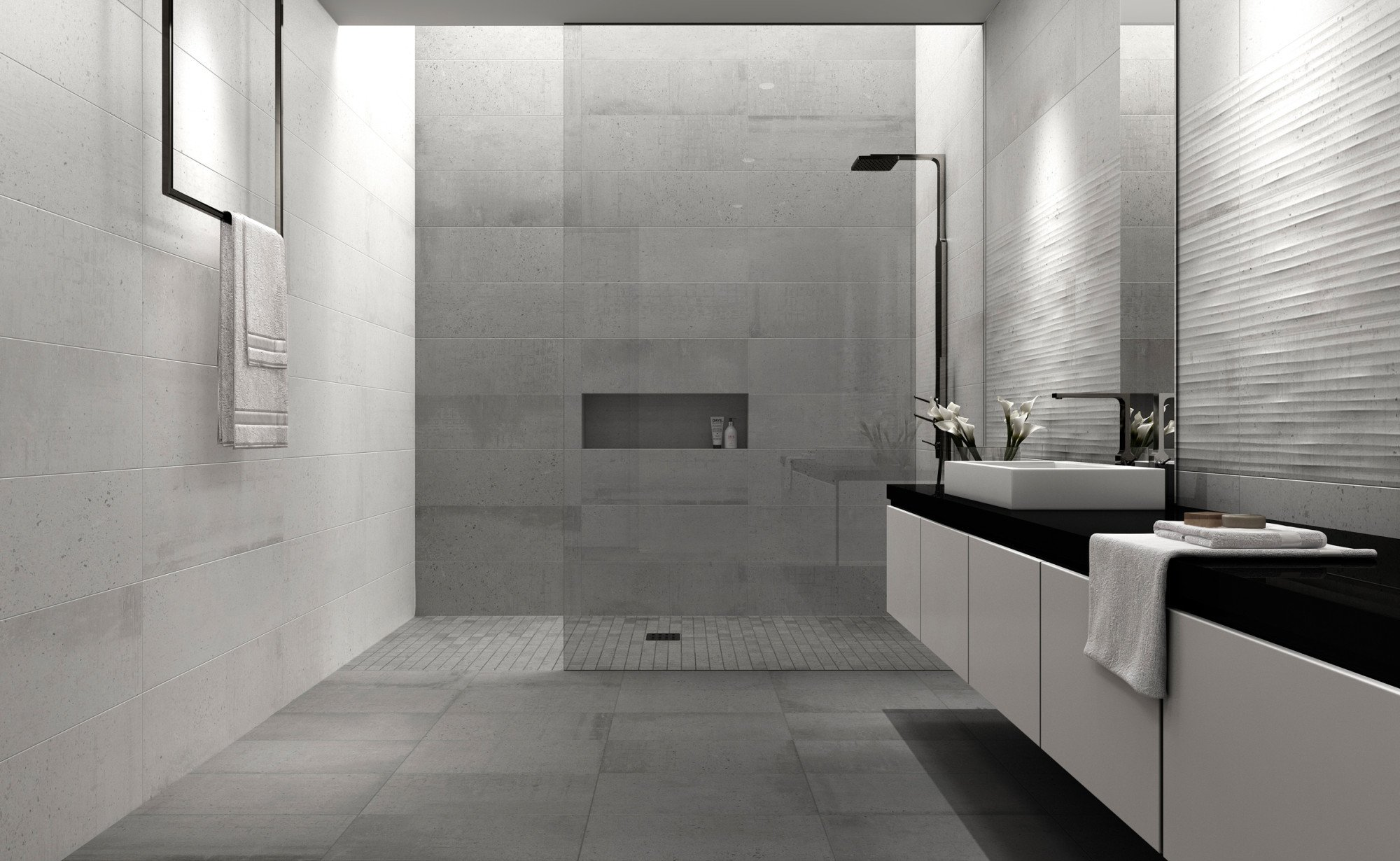 Badezimmer Fliesen 60X60