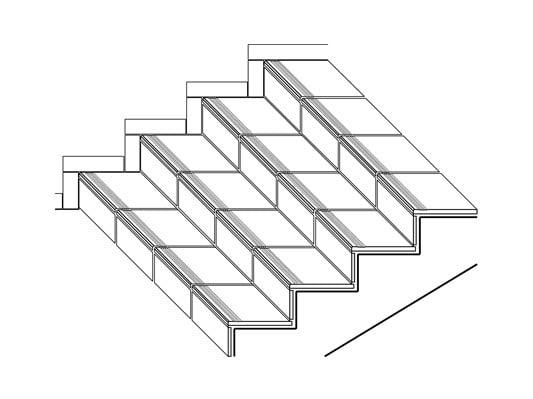 treppen fliesen und platten einsatzbereiche baunetz. Black Bedroom Furniture Sets. Home Design Ideas
