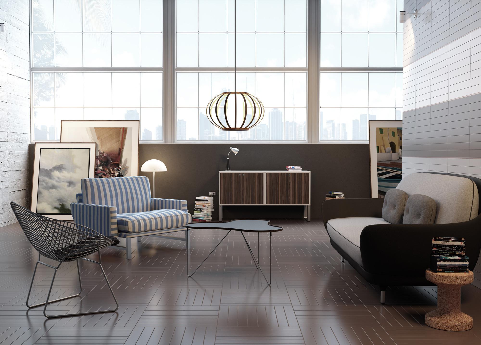 wohnr ume fliesen und platten einsatzbereiche baunetz wissen. Black Bedroom Furniture Sets. Home Design Ideas