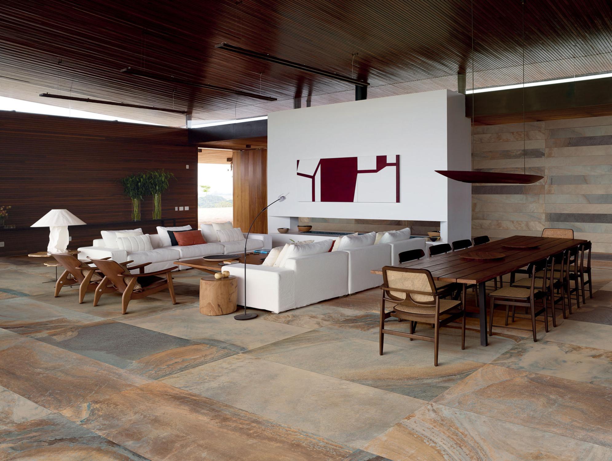 Wohnräume | Fliesen und Platten | Einsatzbereiche | Baunetz_Wissen
