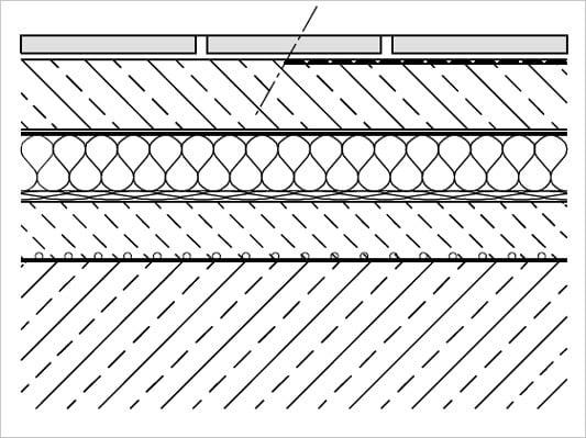 schwimmender estrich fliesen und platten untergr nde. Black Bedroom Furniture Sets. Home Design Ideas