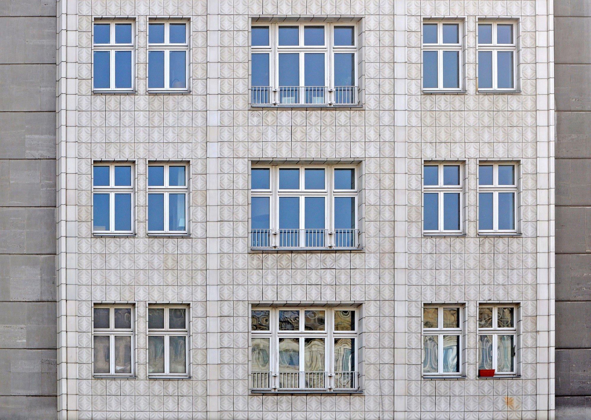 Fassadenkonstruktion Angemortelte Fassade Fliesen Und Platten