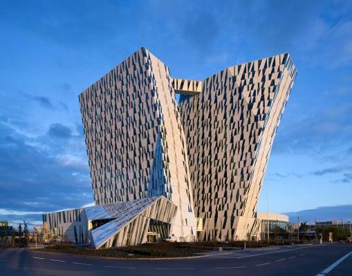 bella sky hotel in kopenhagen fassade sport freizeit. Black Bedroom Furniture Sets. Home Design Ideas