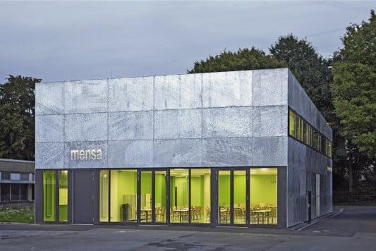 . Werner von Siemens Schule in Bochum   Fassade   Kultur Bildung