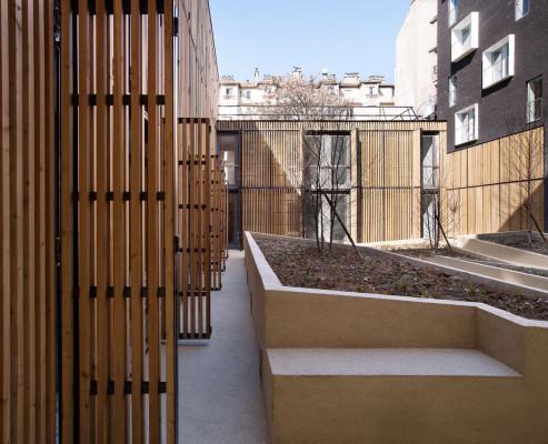 studentenwohnheim in paris mauerwerk soziale einrichtungen baunetz wissen. Black Bedroom Furniture Sets. Home Design Ideas
