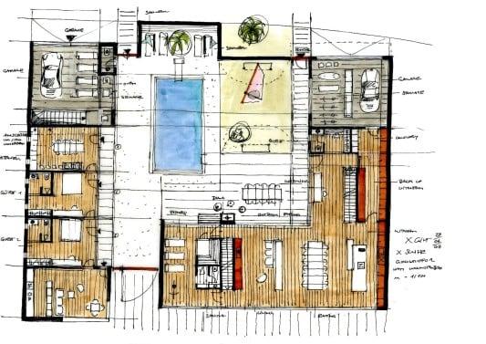 ferienhaus in kapstadt bad und sanit r wohnen baunetz wissen. Black Bedroom Furniture Sets. Home Design Ideas