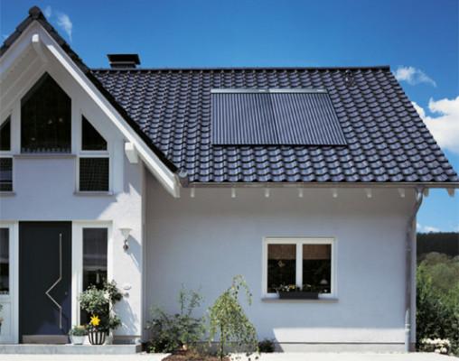 solaranlage zur heizungsunterst tzung solar solarw rme baunetz wissen. Black Bedroom Furniture Sets. Home Design Ideas