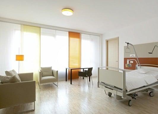 krankenzimmer akustik wohnen gesundheit baunetz wissen. Black Bedroom Furniture Sets. Home Design Ideas