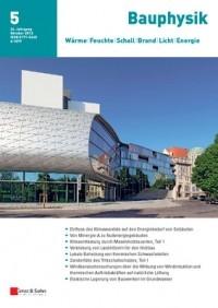 Bauphysik Akustik Fachzeitschriften Baunetz Wissen