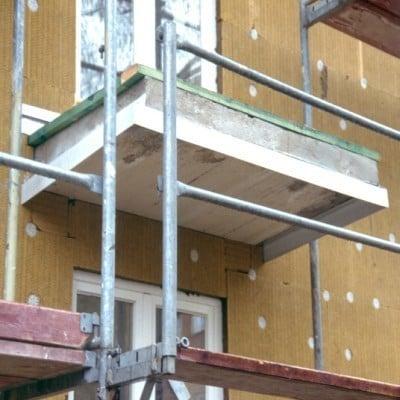 Relativ Nachträgliche Wärmedämmung von Balkonplatten | Altbau | Außenwand WC66