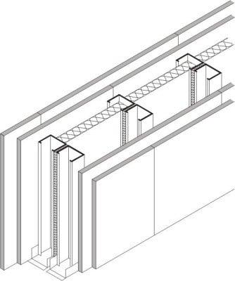st nderwandsysteme und vorsatzschalen mit unterkonstruktion altbau innenausbau baunetz wissen. Black Bedroom Furniture Sets. Home Design Ideas