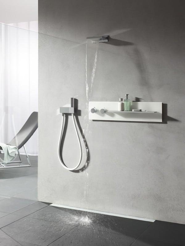 hand kopf und seitenbrausen bad und sanit r brausen. Black Bedroom Furniture Sets. Home Design Ideas
