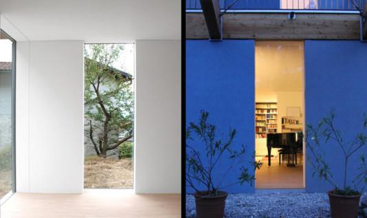 einfamilienhaus in locarno ch heizung wohnen baunetz wissen. Black Bedroom Furniture Sets. Home Design Ideas