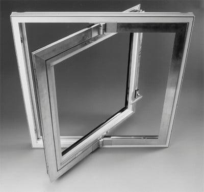 Schwingflügelfenster detail  Schwingflügelbeschläge | Beschläge | Fensterbeschläge | Baunetz_Wissen