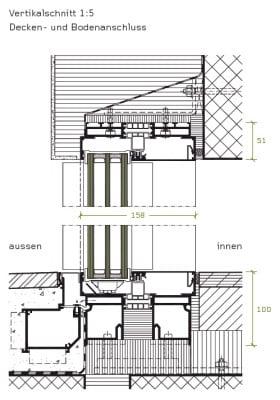 Glasfassade detail bodenanschluss  Schiebefenster ohne sichtbaren Rahmen | Beschläge | News/Produkte ...