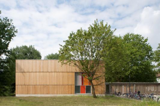 Pausenhalle der Grundschule Entenfang in Hannover