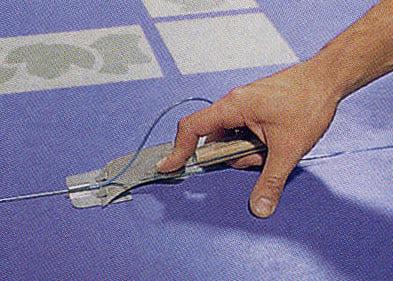 Linoleum verlegen  Verlegung von Linoleum | Boden | _Linoleum | Baunetz_Wissen