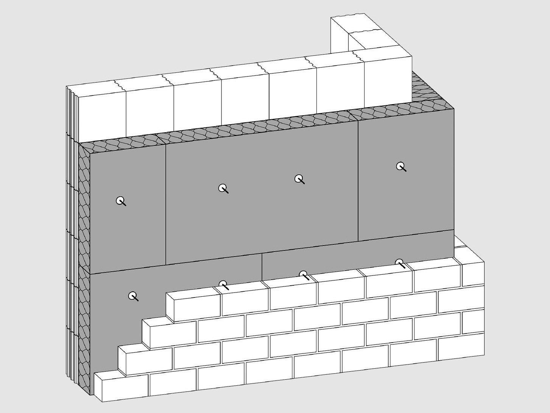 zweischaliges mauerwerk d mmstoffe wand baunetz wissen. Black Bedroom Furniture Sets. Home Design Ideas