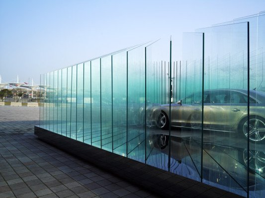 glaspavillon in shanghai rc glas sonderbauten baunetz wissen. Black Bedroom Furniture Sets. Home Design Ideas