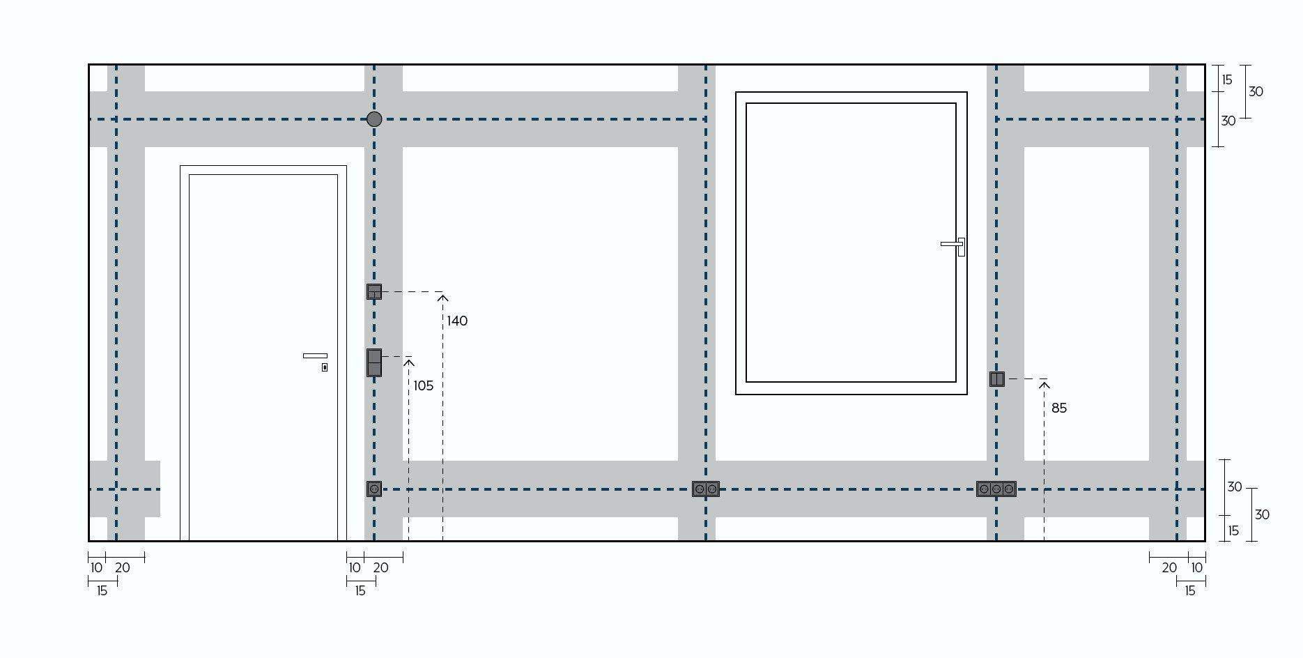 Leitungsverlegung Und Installationszonen Elektro Leitungen