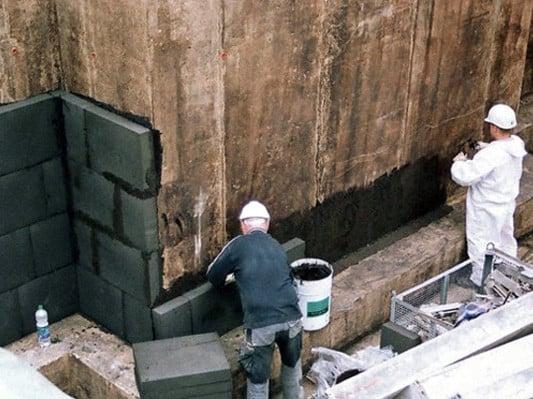 Kelleraussenwande Dammen Dammstoffe Wand Baunetz Wissen