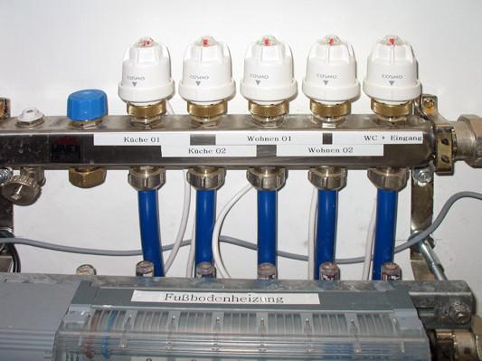 Fußboden Verteiler ~ Wärmeverteilung gebäudetechnik heizung baunetz wissen