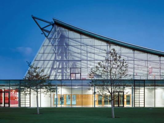 Glas Fassade Materialien Baunetz Wissen