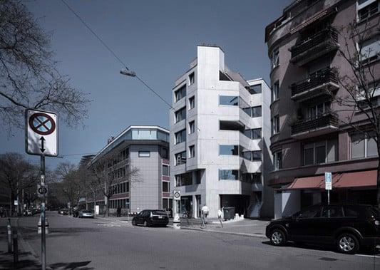 Mehrfamilienhaus in Zürich/CH | Beton | Wohnen/MFH | Baunetz_Wissen