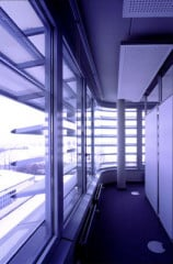 Aluminiumblenden der Mabeg Office Box, Architekt Nicholas Grimshaw & Partners