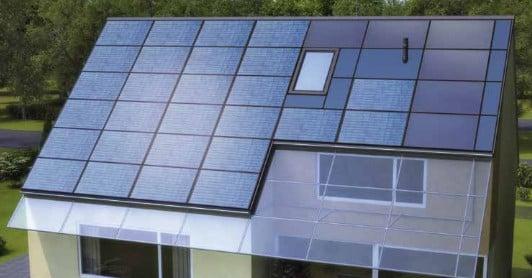 pv module und solarkollektoren auf gleicher h he solar news produkte baunetz wissen. Black Bedroom Furniture Sets. Home Design Ideas