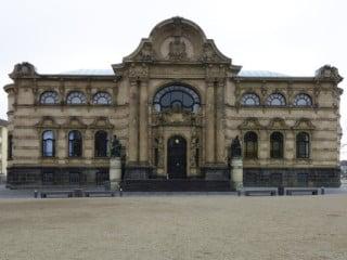Neobarocke Fassade des Altbaus
