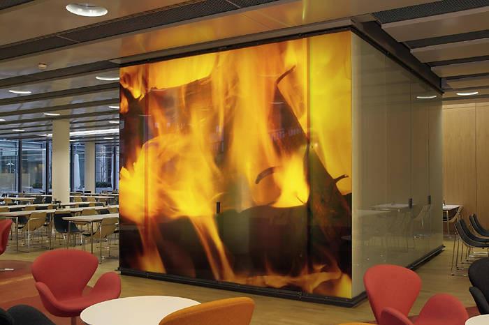Digitaldruck auf Glas  Glas  Glasbearbeitung  Baunetz_Wissen