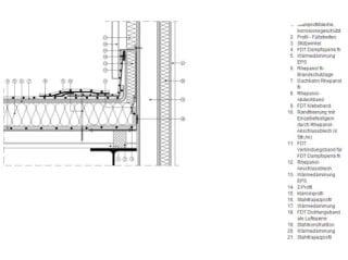 Holzbau flachdach detail  Holzbau und Brandschutz in der Sanierung | Flachdach | Fachbücher ...