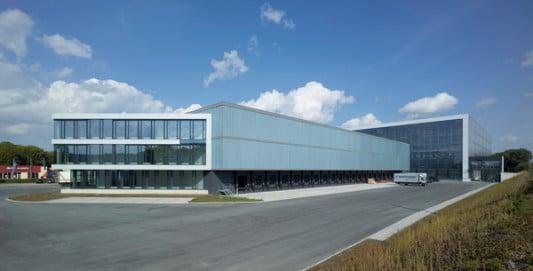 Architekt Detmold logistikzentrum in detmold fassade gewerbe industrie