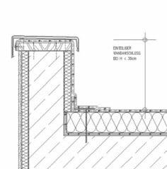 anschl sse an t ren flachdach detailzeichnungen baunetz wissen. Black Bedroom Furniture Sets. Home Design Ideas