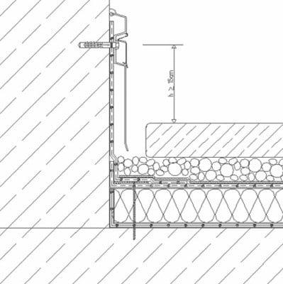 Anschlusse An Aufgehende Bauteile Flachdach Detailzeichnungen