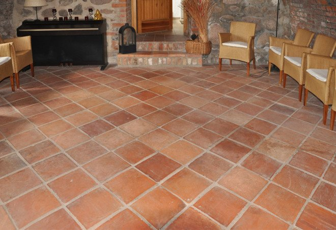 Terracottafliesen Oder Cottoplatten Fliesen Und Platten