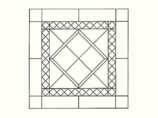 verlegemuster fliesen und platten verlegung baunetz. Black Bedroom Furniture Sets. Home Design Ideas