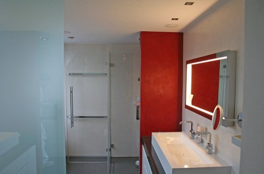 fugenlose dusche putz das fugenlose bad. Black Bedroom Furniture Sets. Home Design Ideas