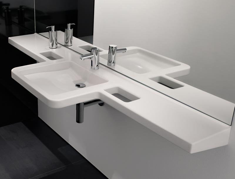badezimmer 2 waschbecken aufsatzwaschbecken. Black Bedroom Furniture Sets. Home Design Ideas