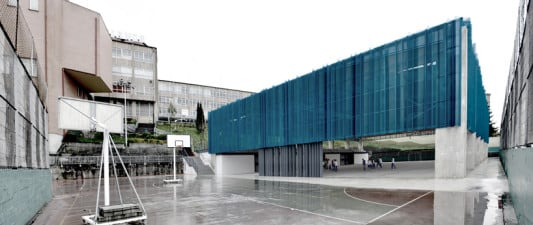 Sporthalle in barakaldo sonnenschutz freizeit sport baunetz wissen - Colegio arquitectos bilbao ...