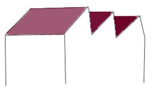 sheddach geneigtes dach dachformen baunetz wissen. Black Bedroom Furniture Sets. Home Design Ideas