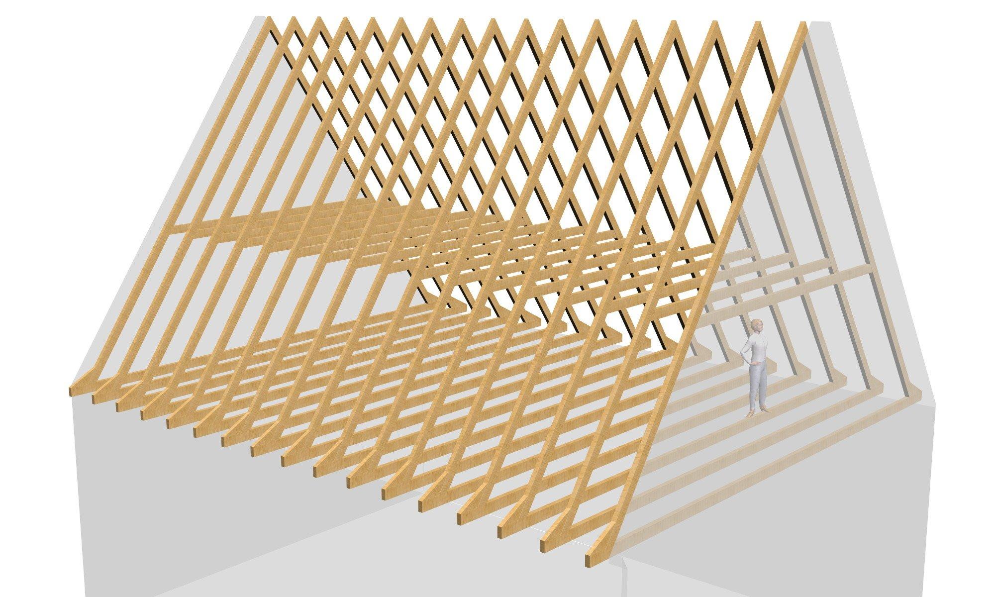 kehlbalkendach geneigtes dach dachtragwerke baunetz. Black Bedroom Furniture Sets. Home Design Ideas
