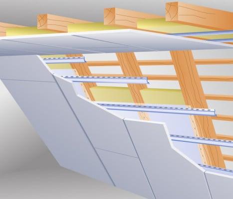 dachinnenbekleidung geneigtes dach. Black Bedroom Furniture Sets. Home Design Ideas