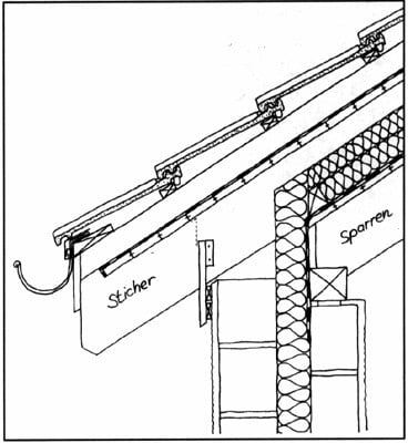 Traufdetail kein dachüberstand  Traufausbildung | Geneigtes Dach | Bauschäden | Baunetz_Wissen