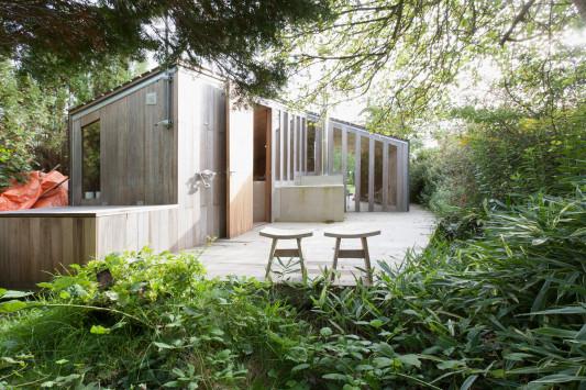 Die Architektenlaube Gartenhaus In Groningen Nl Boden Sport