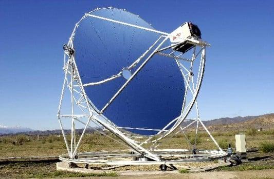 Dish Stirling Anlagen Glas Energiegewinn Baunetz Wissen